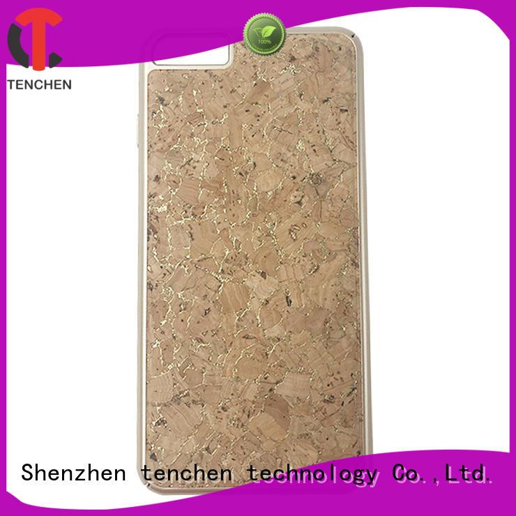 Quality TenChen Tech Brand fiber corner case iphone 6s