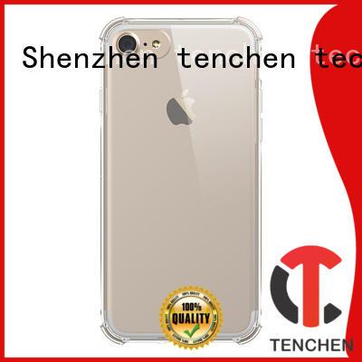 Wholesale black transparent case iphone 6s TenChen Tech Brand