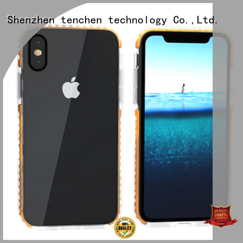 black personalised phone case wooden for store TenChen Tech