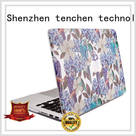 TenChen Tech printed apple air laptop case anti-dust for store