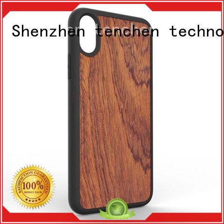 TenChen Tech silicone phone case with strap series for shop