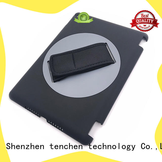 rubber ipad mini smart case 360 for retail TenChen Tech