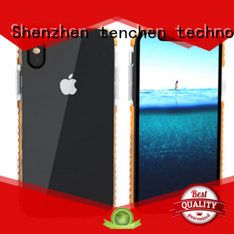 gradient black TenChen Tech Brand mobile phones covers and cases