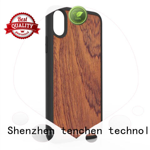 microfiber mobile phones covers and cases gradient TenChen Tech company