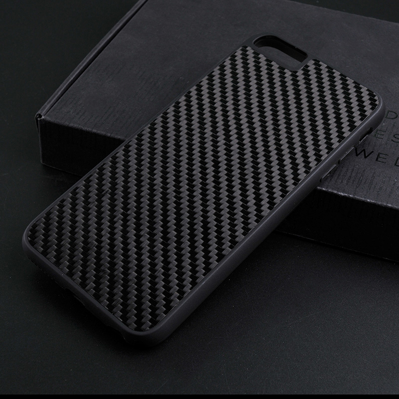 TenChen Tech Luxury Black Real Carbon Fiber Case For Iphone CB0001 Phone Case image22