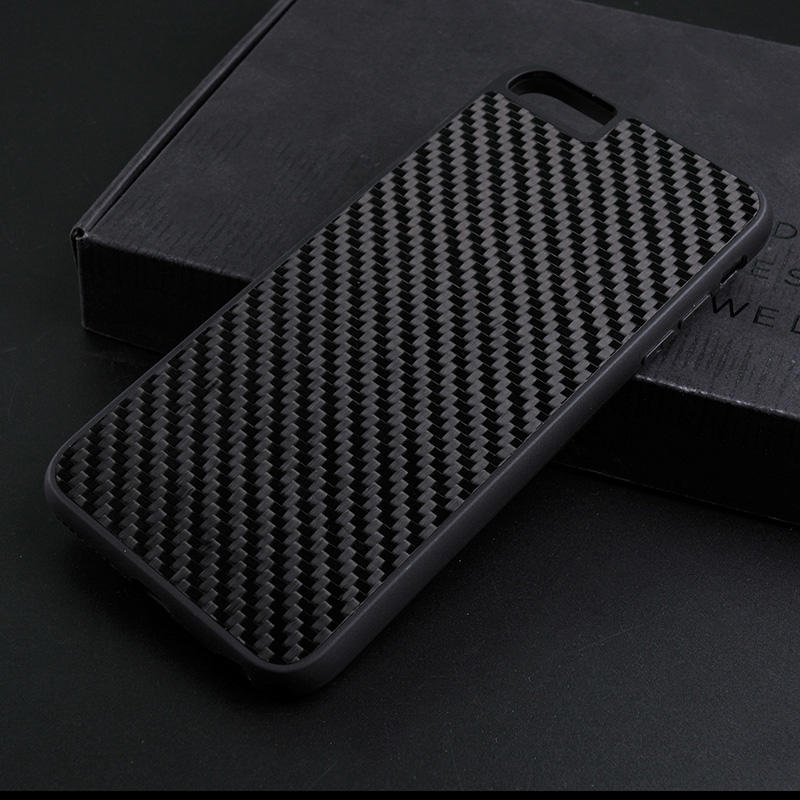 Luxury Black Real Carbon Fiber Case For Iphone CB0001-TenChen Tech