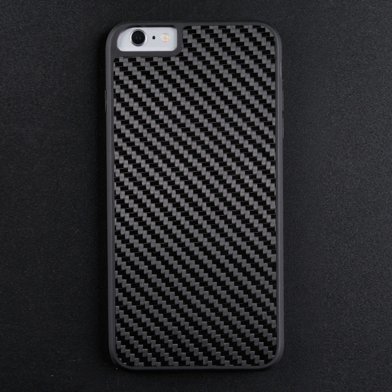 Luxury Black Real Carbon Fiber Case For Iphone CB0001-4