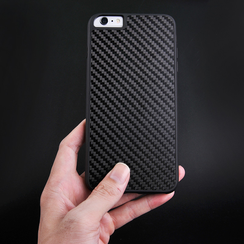 Luxury Black Real Carbon Fiber Case For Iphone CB0001-9
