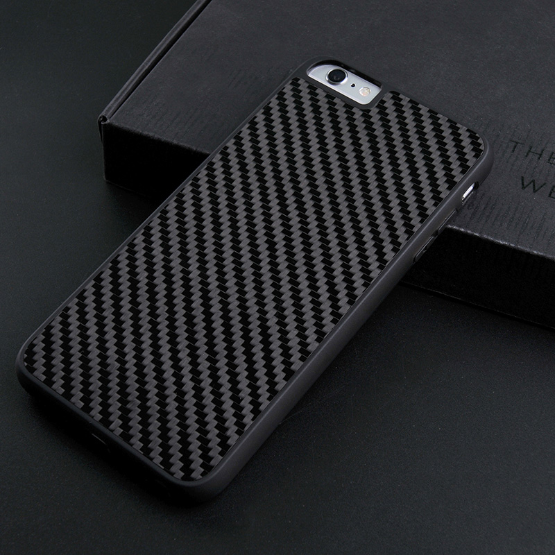 Luxury Black Real Carbon Fiber Case For Iphone CB0001-10