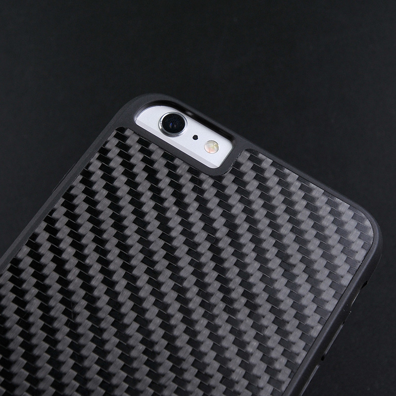 Luxury Black Real Carbon Fiber Case For Iphone CB0001-12