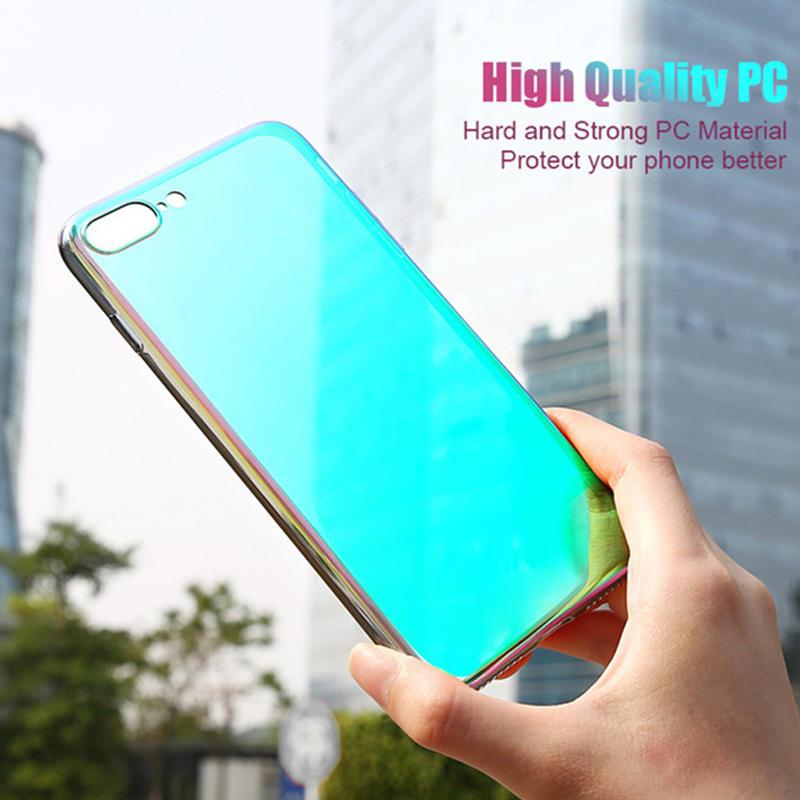 Gradient Color Scratch Resistant Hard PC Case
