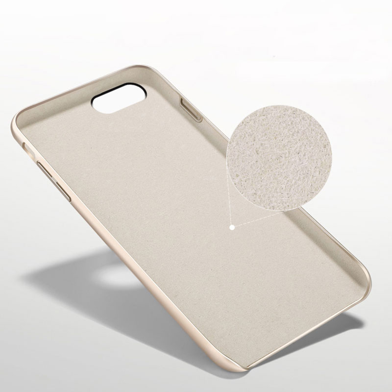 TenChen Tech Protective Coloured microfiber  PC hard phone case for iphone X Phone Case image19