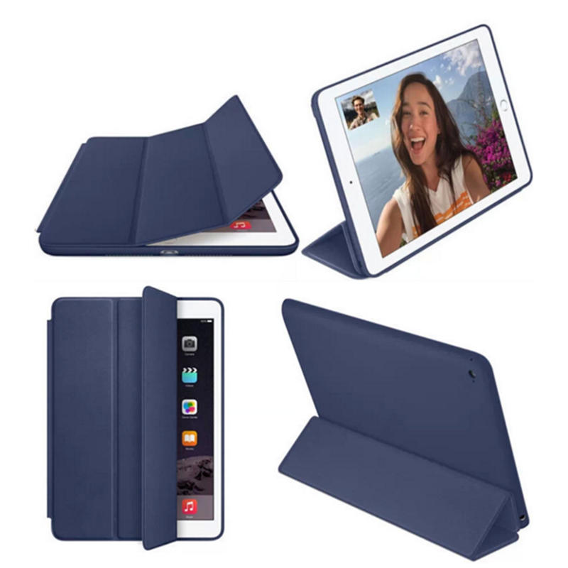 TENCHEN  Leather iPad case protective pad cover
