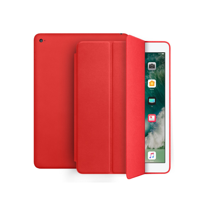 Leather iPad case protective pad cover-8