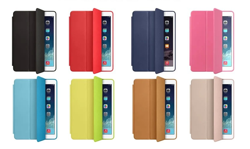 Leather iPad case protective pad cover-11
