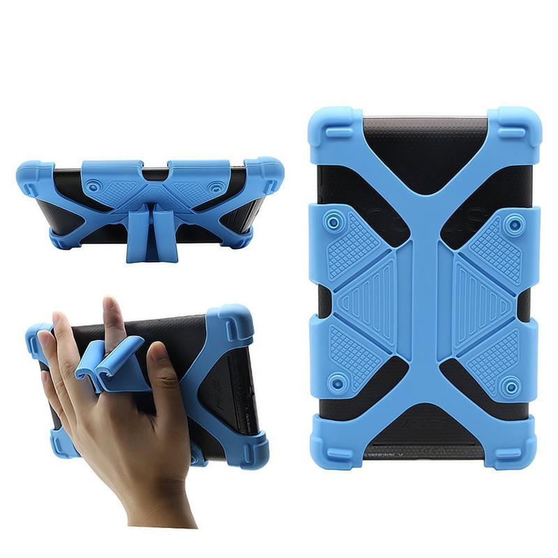 TENCHEN Back Cover Case Shock Proof Rubber Silicon For Apple iPad 2 3 4 5 6 Air 2 Mini
