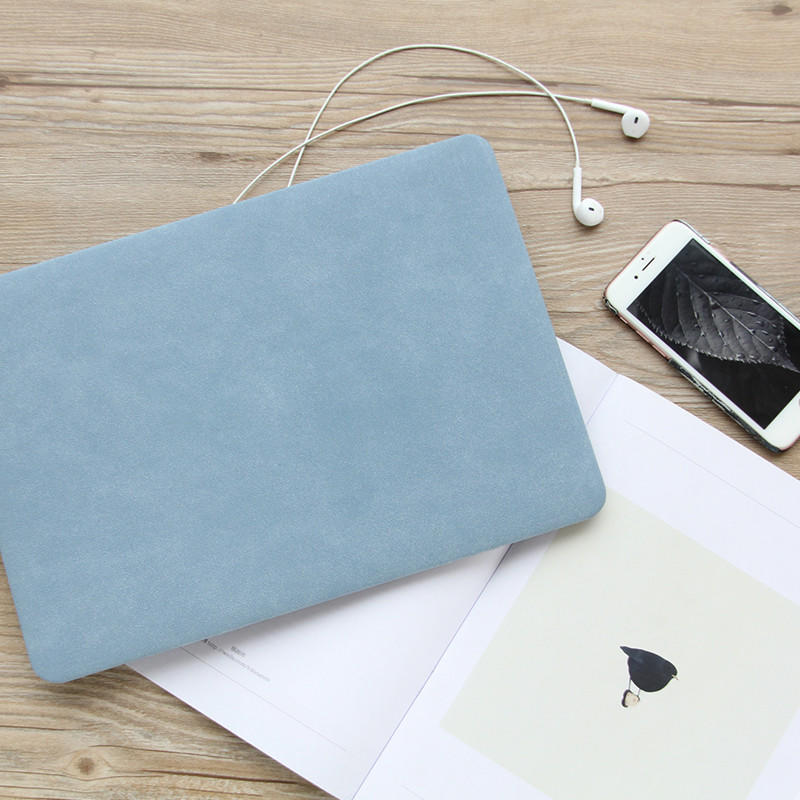 Wool felt notebook case and bag sleeve for macbook of 11