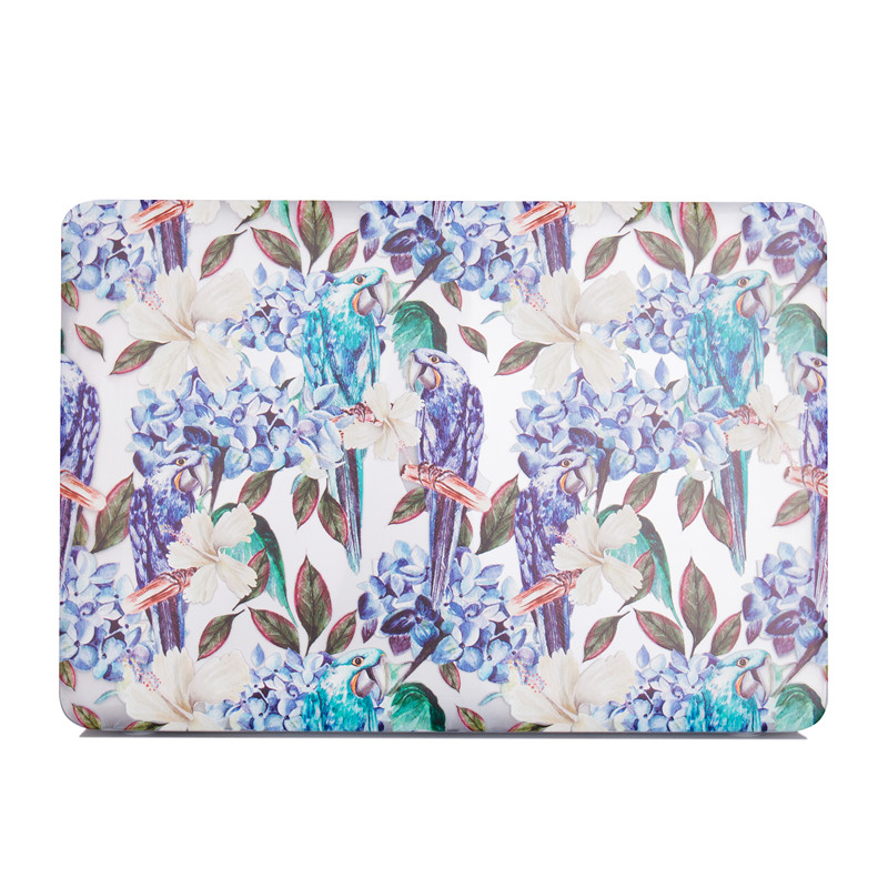TenChen Tech-Print Parrot Macbook case-2