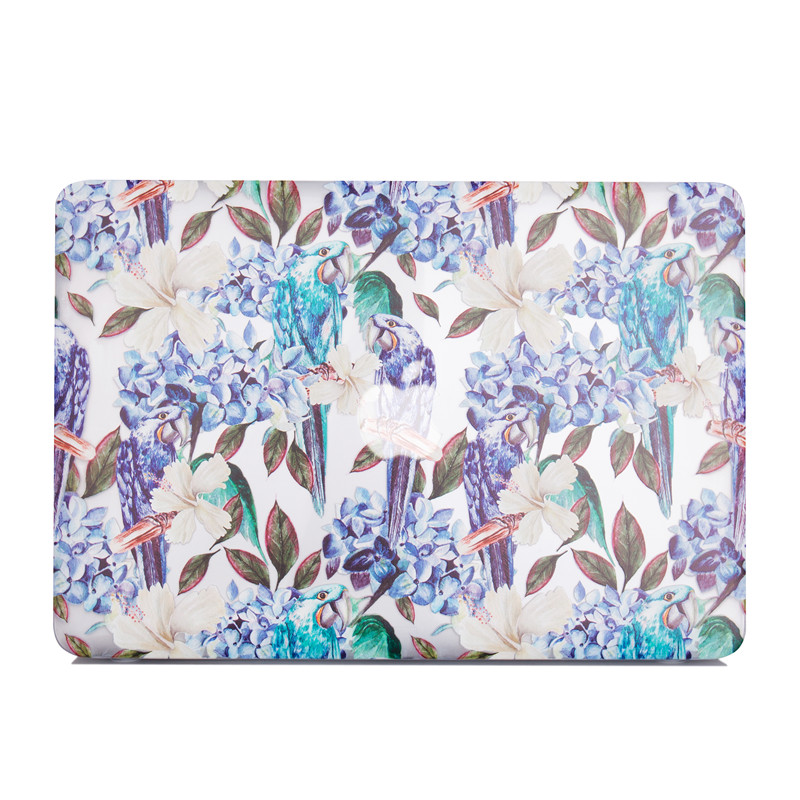 TenChen Tech-Print Parrot Macbook Case | Laptop Covers For Mac Company-6