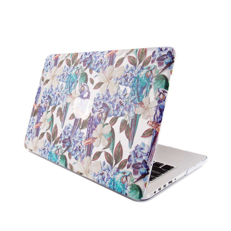 TenChen Tech-Print Parrot Macbook Case | Laptop Covers For Mac Company-7