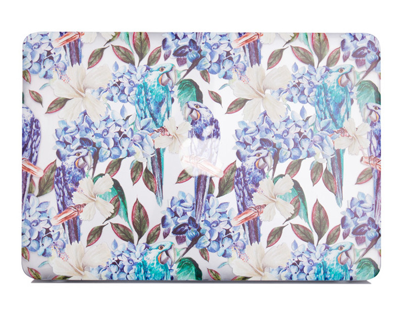 TenChen Tech-Print Parrot Macbook Case | Laptop Covers For Mac Company