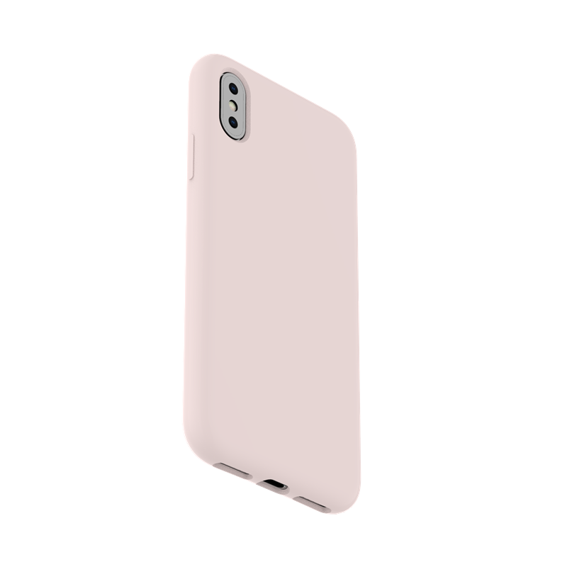 TENCHEN Liquid Silicone case full protective phone cover