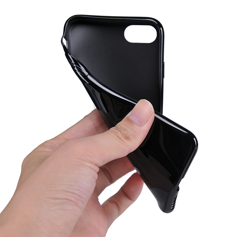 black iphone 11 case series for business-5