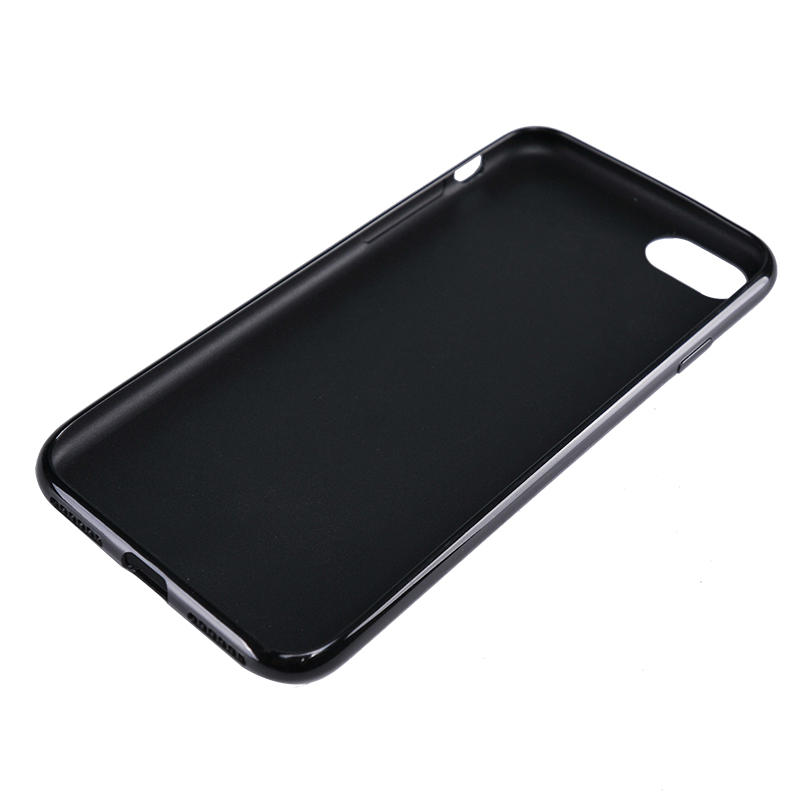 Solid colour protective phone case with soft TPU for iPhone