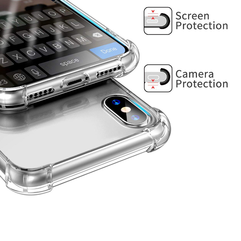 TenChen Tech Transparent TPU protective phone cover with bumper Phone Case image11