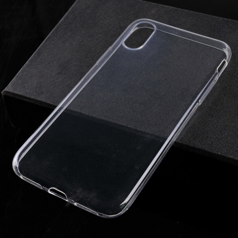 Transparent TPU protective phone cover-4