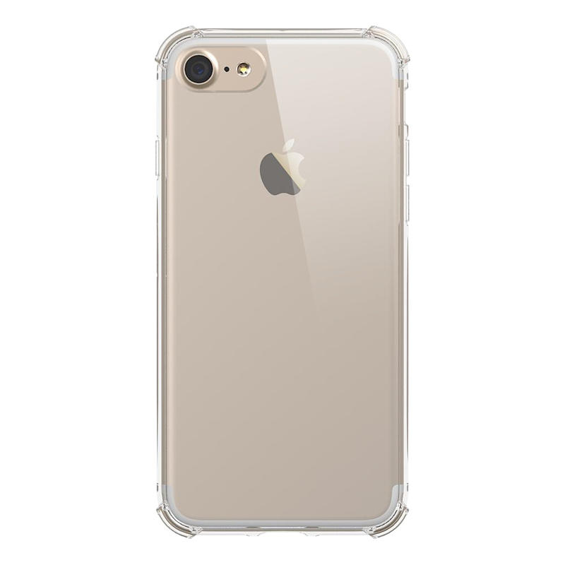 PC TPU Clear Case For Iphone 7  With Shockproof Corner PT0001