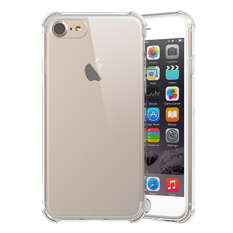 PC TPU Clear Case For Iphone 7 With Shockproof Corner PT0001-TenChen Tech