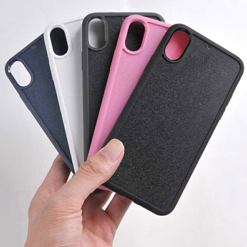 TenChen Tech-Blank Case For iPhone X Hard PC Case Soft TPU Edge BC0001-1