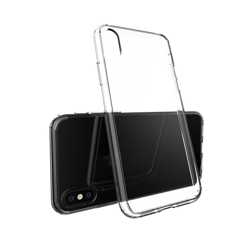 TenChen Tech Transparent PC TPU Clear Case For Iphone X PT0002 Phone Case image4