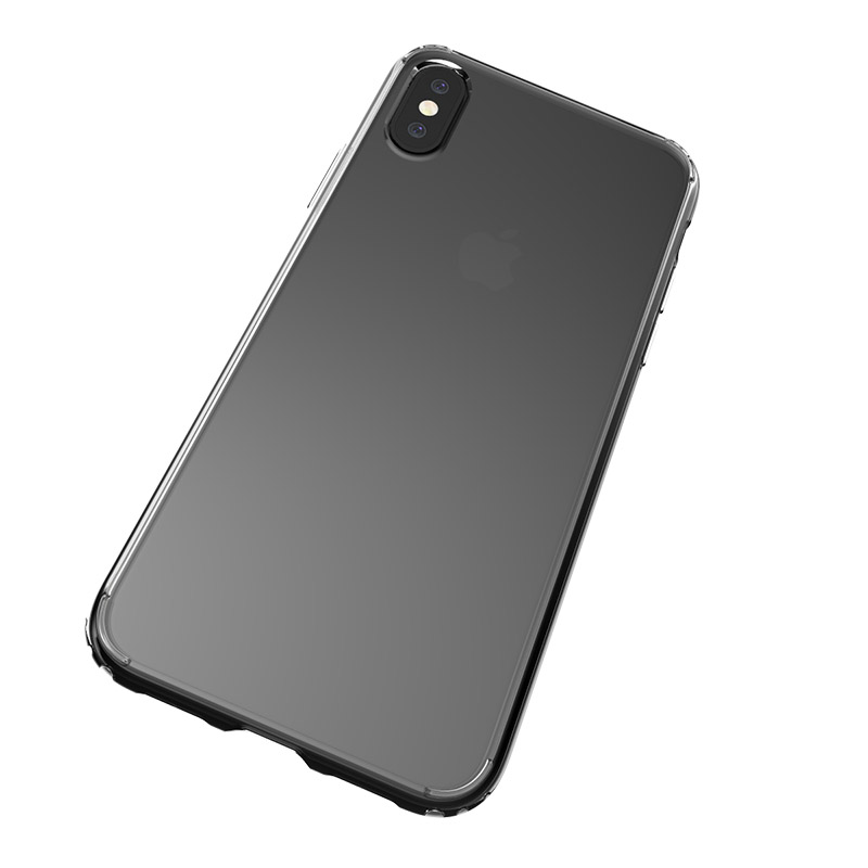 TenChen Tech-Find Clean Silicone Case Transparent Pc Tpu Clear Case For Iphone X Pt0002-1