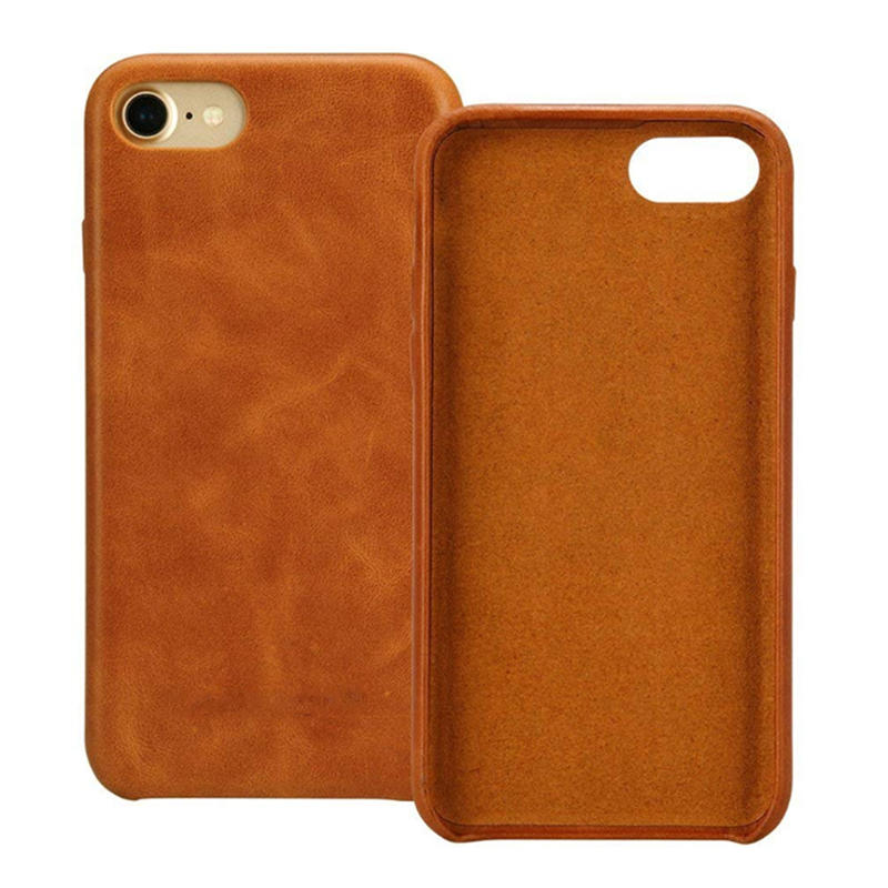 High quality leather protective phone case
