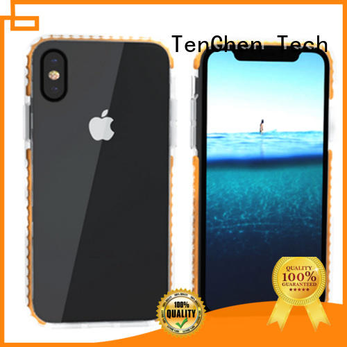 microfiber silicone pc mobile phones covers and cases TenChen Tech Brand