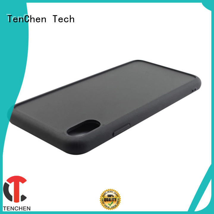 TenChen Tech coated leather phone case customized for retail