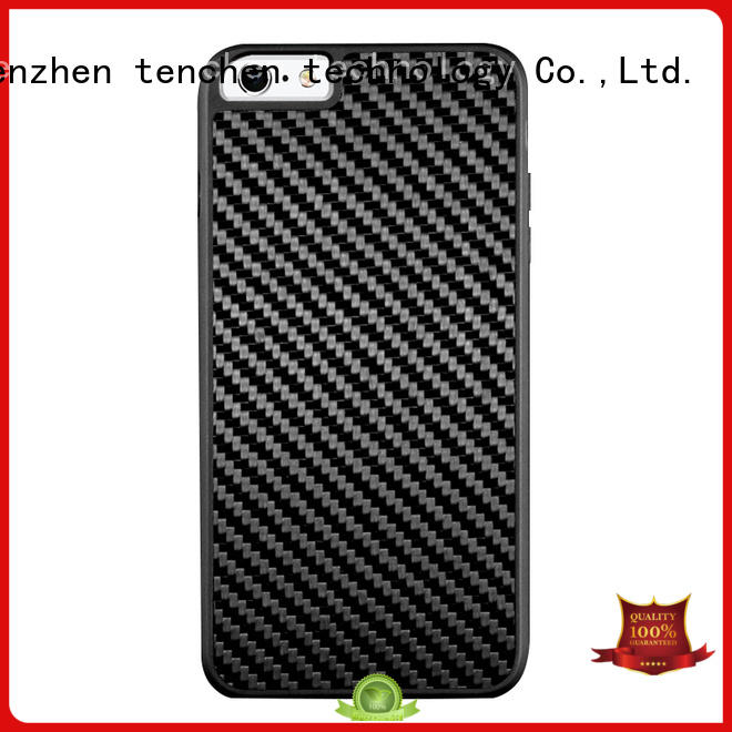 scratch black mobile phones covers and cases TenChen Tech Brand