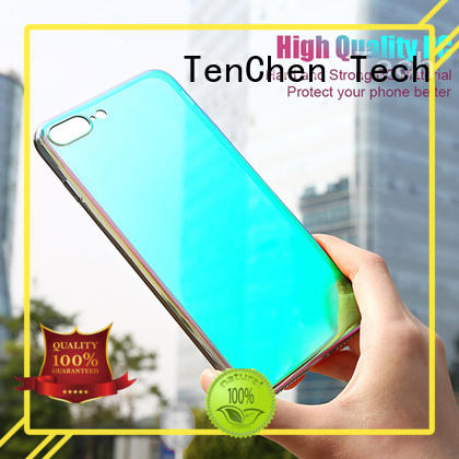 mobile phones covers and cases coloured colour case iphone 6s TenChen Tech Brand