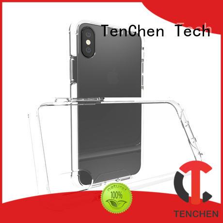 TenChen Tech semitransparent phone case manufacturer series for commercial