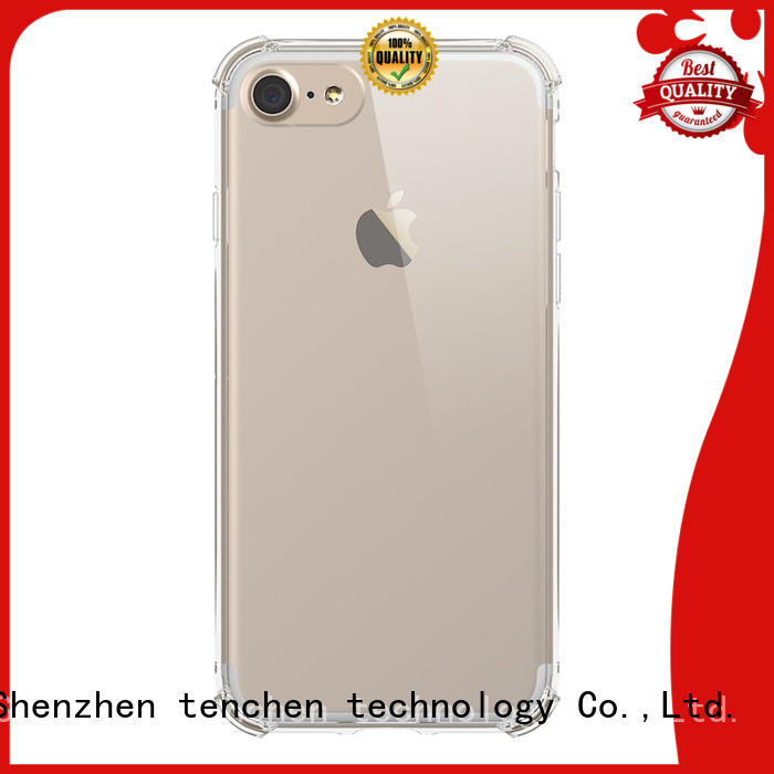 Hot clear mobile phones covers and cases wooden TenChen Tech Brand