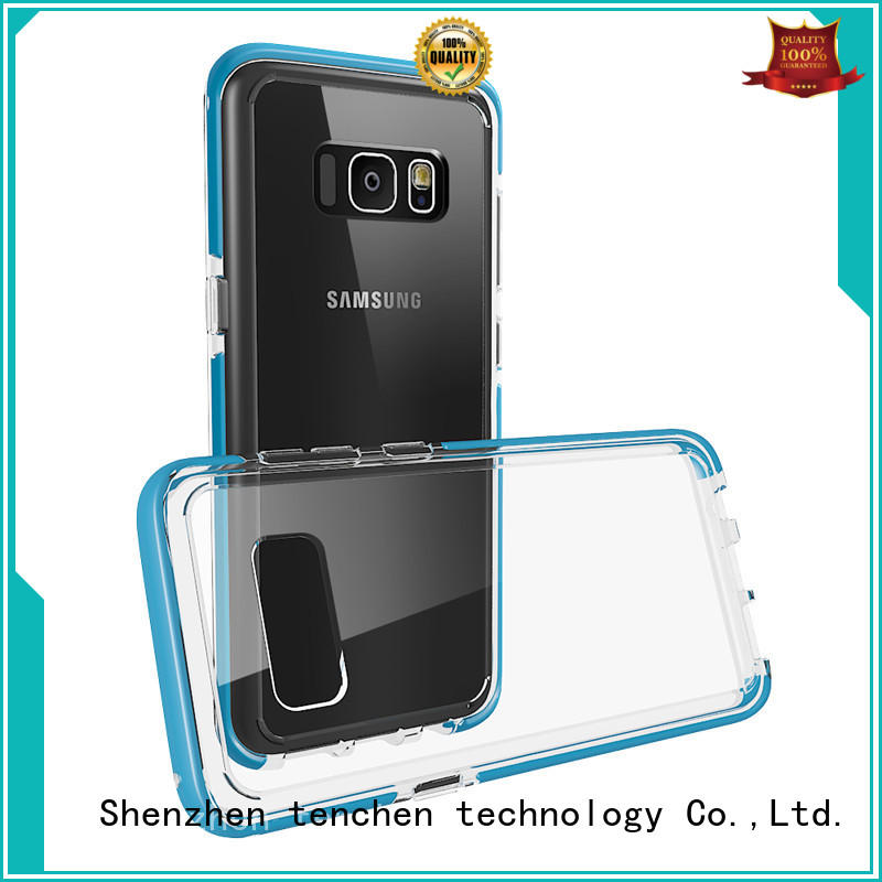 TenChen Tech Brand transparent real protective mobile phones covers and cases back