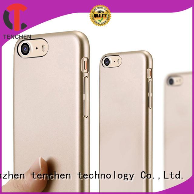 bamboo fiber phone case manufacturer PLA for retail TenChen Tech