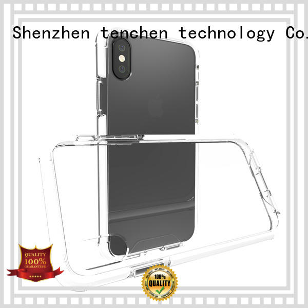 TenChen Tech Brand gradient leather mobile phones covers and cases
