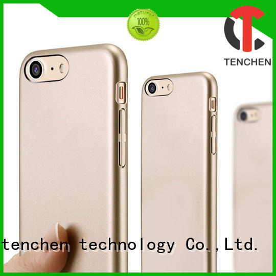 TenChen Tech Brand phone tpu real mobile phones covers and cases fiber