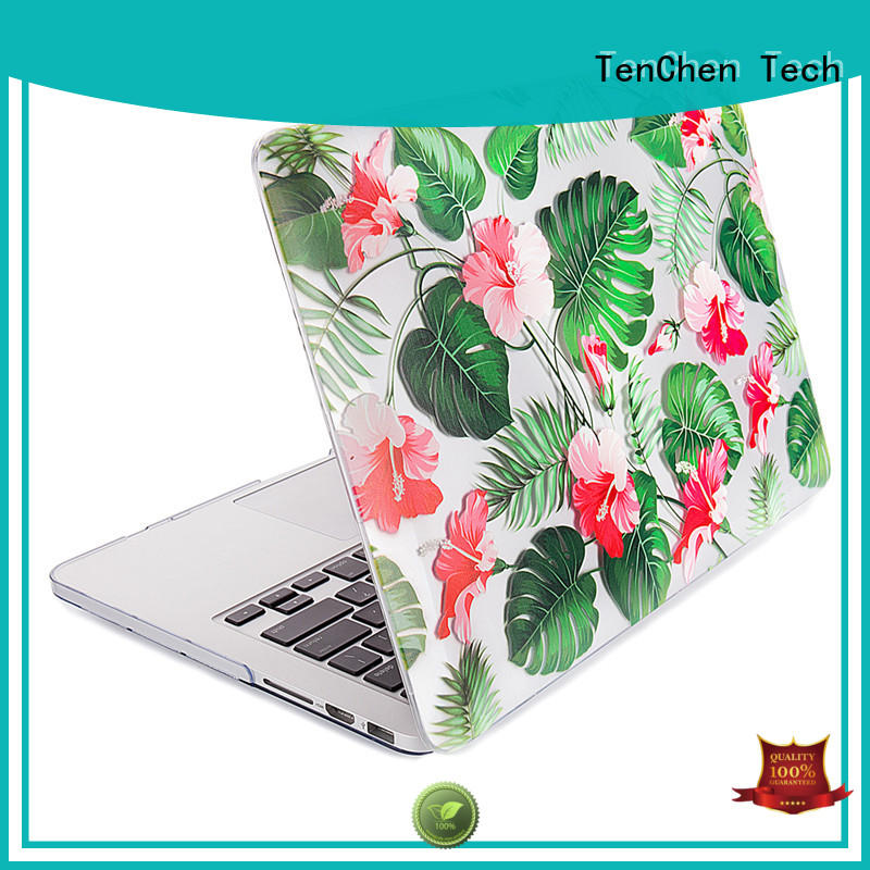 shell black laptop macbook pro protective case TenChen Tech Brand company