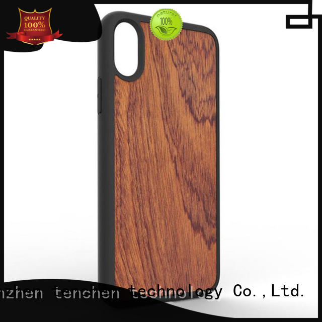 black wooden case iphone 6s solid TenChen Tech company