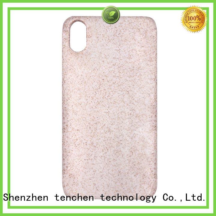Quality TenChen Tech Brand mobile phones covers and cases transparent black