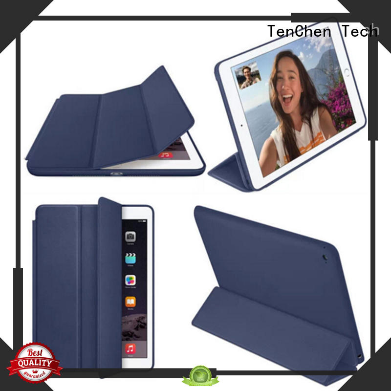 leather cover pad shock apple ipad air case TenChen Tech
